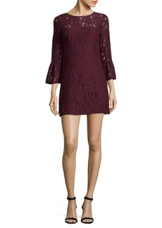 BB Dakota Flare Sleeve Lace Dress