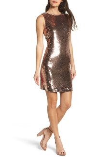 BB Dakota Garland Sequin Sheath Dress