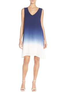 BB Dakota 'Gisela' Dip Dye Woven Shift Dress