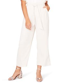 BB Dakota Go with the Flow Crop Wide Leg Pants