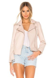 BB Dakota Guest List Faux Leather Jacket