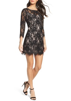 BB Dakota Hale Lace Sheath Dress