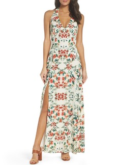BB Dakota Hana Print Maxi Dress