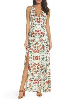 BB Dakota Hana Print Maxi Dress