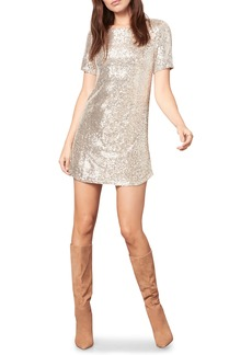 BB Dakota Hit the Lights Sequin Knit Shift Dress