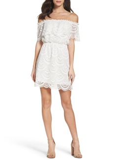 BB Dakota Hope Off the Shoulder Lace Dress