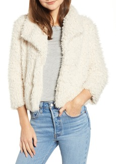 BB Dakota Hugs Don't Lie Faux Fur Coat
