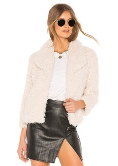 BB Dakota Hugs Don't Lie Faux Fur Jacket