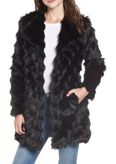 BB Dakota It's All Happening Faux Fur Coat