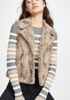 BB Dakota Jack By BB Dakota Aint It Fuzzy Faux Fur Vest