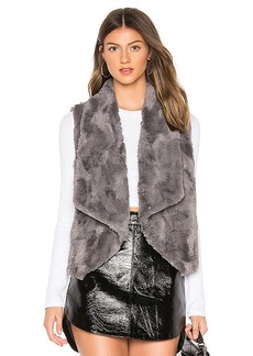 BB Dakota JACK by BB Dakota Big Softy Faux Fur Vest