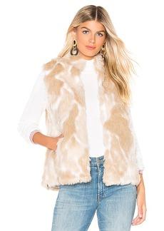 BB Dakota JACK by BB Dakota Faux Fur What Vest