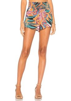 BB Dakota Jack by BB Dakota Feliz Shorts in Orange. - size L (also in XS,M)