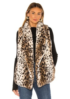 BB Dakota Jack By BB Dakota Purr Usual Faux Leopard Vest