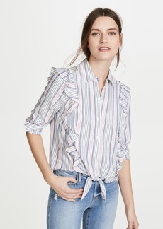 BB Dakota Jack By BB Dakota Ruffle Rider Button Down