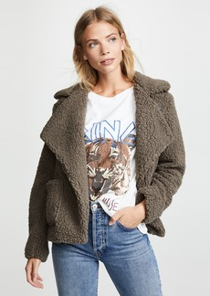 BB Dakota Jack by BB Dakota Speak Now Sherpa Jacket