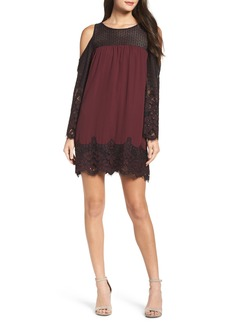 BB Dakota Jacky Cold Shoulder Lace Shift