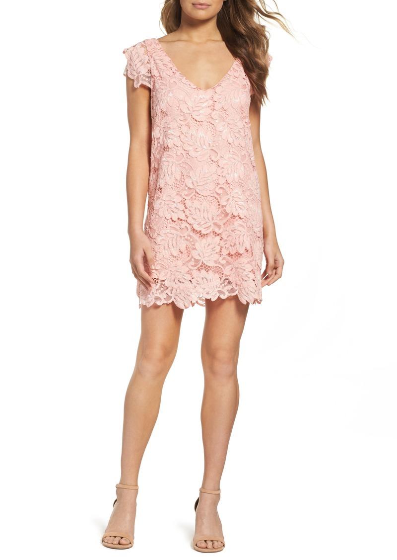 On Sale Today Bb Dakota Bb Dakota Jacqueline Lace Shift Dress