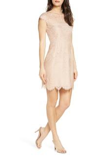 BB Dakota Jayce Lace Sheath Cocktail Dress