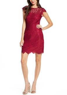 BB Dakota Jayce Lace Sheath Cocktail Dress