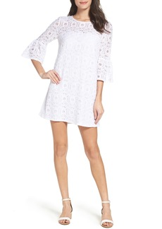 BB Dakota Jesper Bell Sleeve Lace Shift Dress
