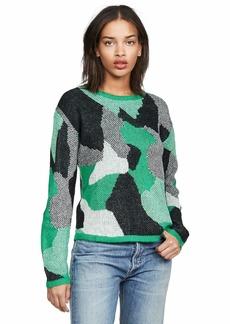 BB Dakota Junior's Blending in Abstract camo Sweater