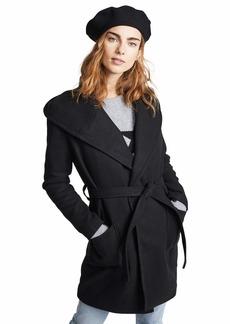 BB Dakota Junior's Brushed Twill wrap Coat