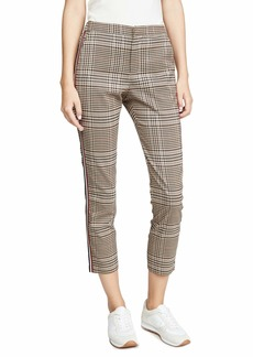 BB Dakota Junior's Check Again Suiting Pant with Contrast Stripes