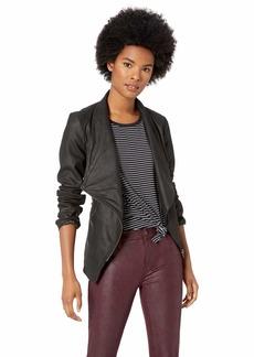 BB Dakota Junior's East Side Drape Front Jacket