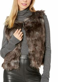 BB Dakota Junior's Foxy Lady Faux Fur Vest