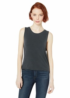 BB Dakota Junior's Knot in a Rush Poly Modal Rib tie Back top