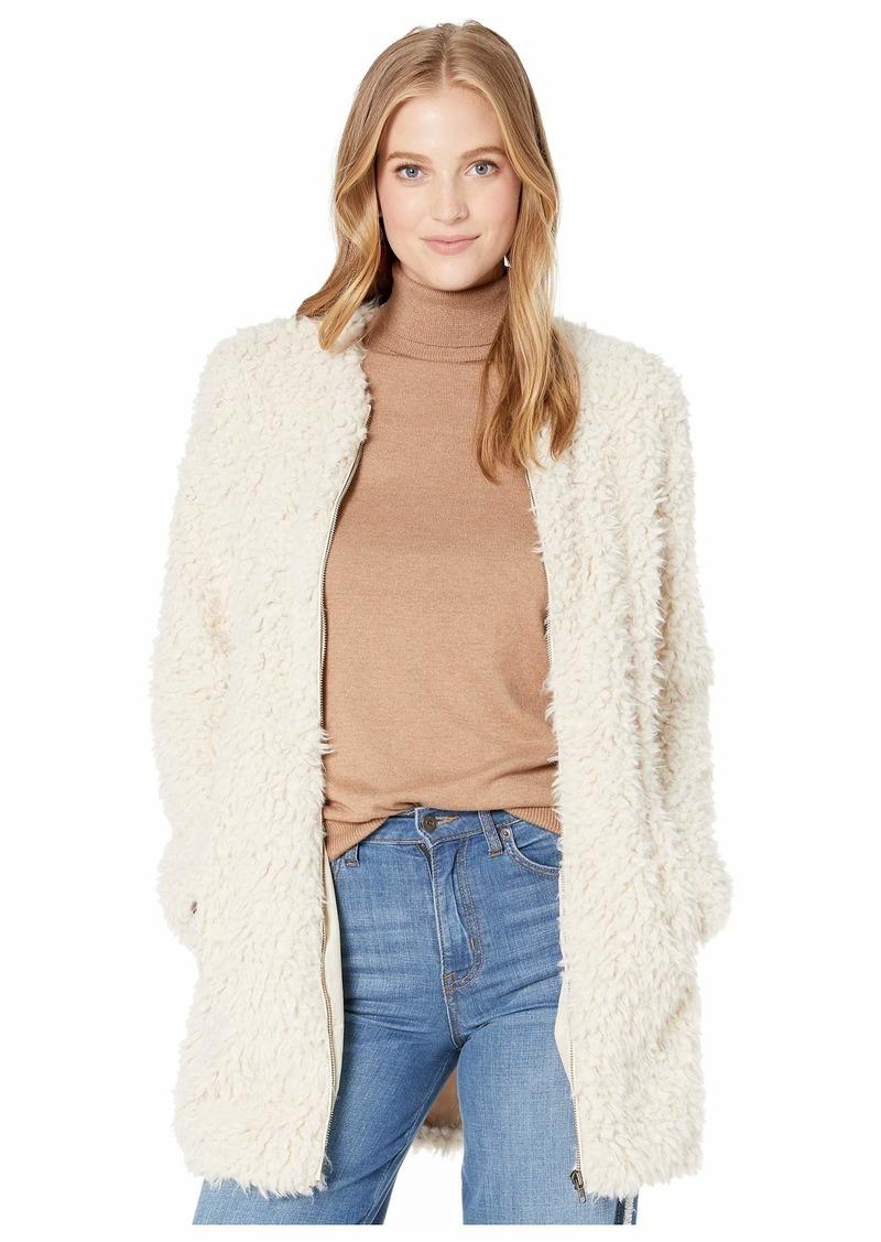 BB Dakota Junior's Soft spot wubby Faux Fur Coat