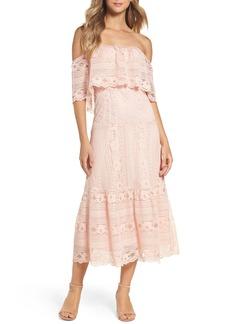 BB Dakota Katie Lace Midi Dress