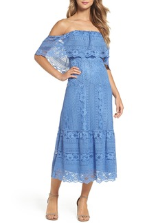 BB Dakota Katie Lace Midi Dress