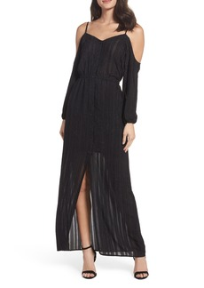BB Dakota Keaton Cold Shoulder Maxi Dress