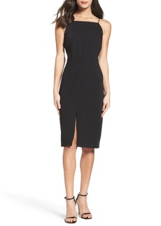 BB Dakota Kindall Crepe Sheath Dress