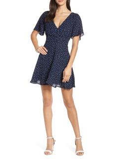BB Dakota La La Land Dot Flutter Dress
