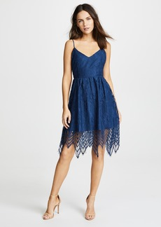 BB Dakota Lace Fit and Flare Dress