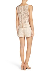 BB Dakota Lace Popover Romper