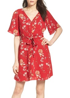 BB Dakota Laselle Faux Wrap Dress