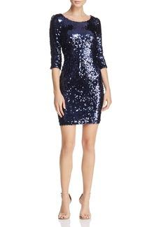 BB DAKOTA Leila Sequined Mini Dress