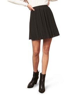 BB Dakota Life Com Pleat Miniskirt