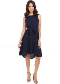 BB Dakota Lilyana Eyelet High-Low Dress