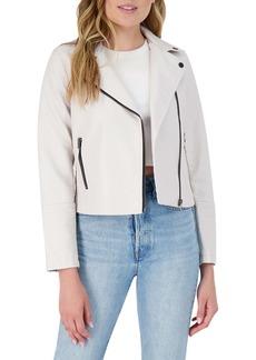 BB Dakota London Calling Faux Leather Moto Jacket