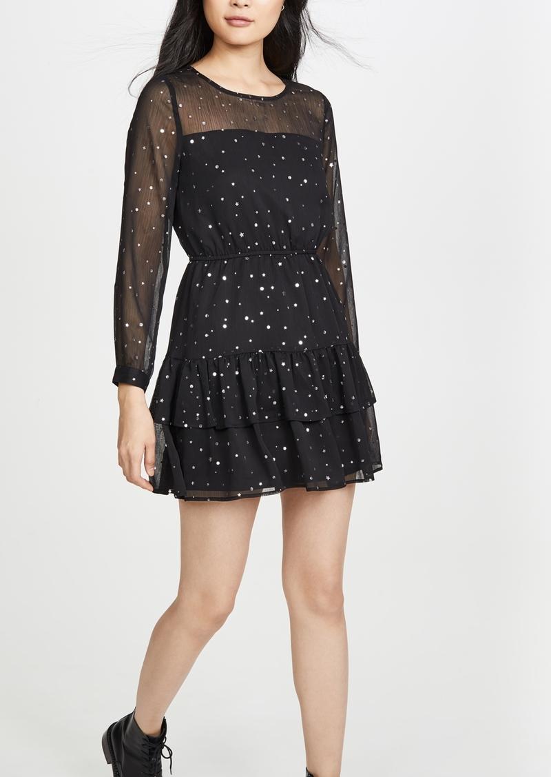 BB Dakota Long Sleeve Mini Dress