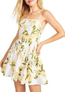 BB DAKOTA Lush Life Printed Mini Dress