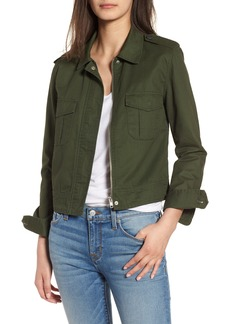 BB Dakota Maddox Cotton Twill Army Jacket