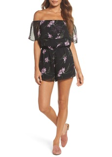 BB Dakota Makayla Off the Shoulder Romper