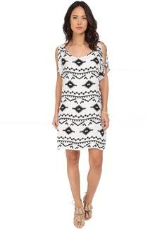 BB Dakota Melody Symbol Printed Rayon Dress