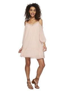 BB Dakota Millie Chiffon Dot Dress